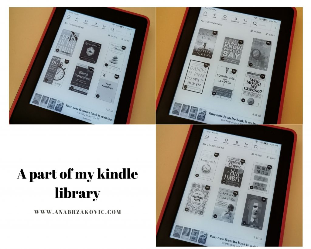 my kindle library
